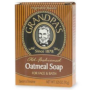 Grandpa's Old Fashioned Oatmeal Soap, for Face and Bath