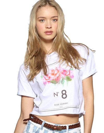 No 8 Floral T-Shirt