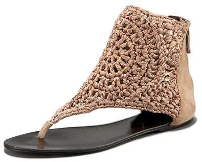 Elizabeth and James Crochet Thong Sandal