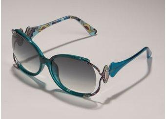 Emilio Pucci Metal Arm Sunglasses
