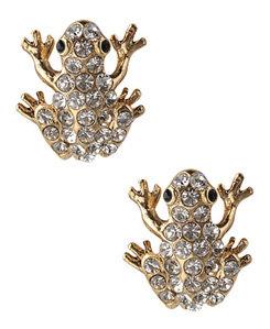 2. Forever 21 Flashy Frog Earrings
