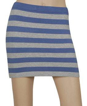 2. Forever 21 Striped Knit Skirt
