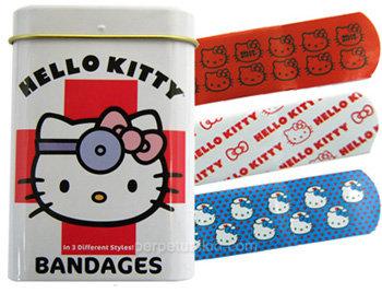 Hello Kitty Bandages