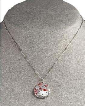 Hello Kitty Pave Diamond Pendant