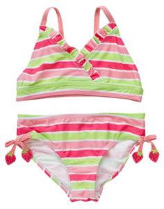 Crazy 8 Stripe Two-Piece Swimsuit