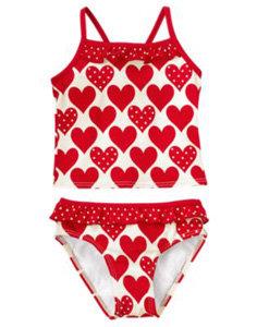 Gymboree Heart Tankini