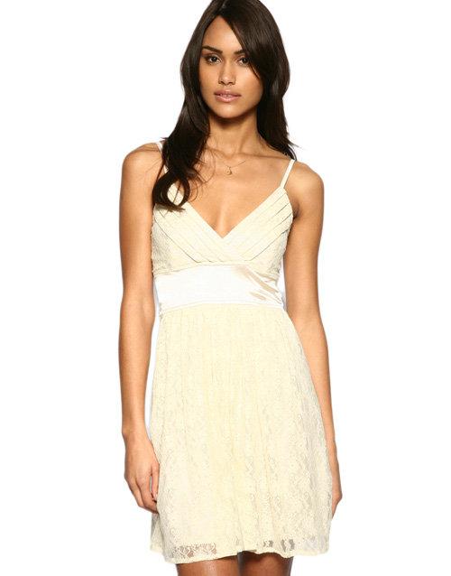 Iska Lace Babydoll Dress