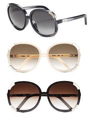 Chloe – Myrtle Oversized Sunglasses