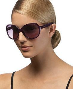 Steve Madden – Vintage Plastic Oval Sunglasses