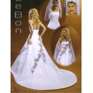 Lebon Bridal Couture White/Black