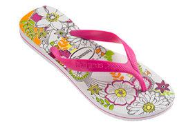 Havaianas Floral Surf Flip Flops