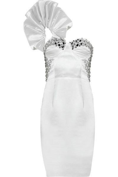 Rachel Gilbert Eva One-shoulder Dress