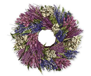 Coldwater Creek Lavender Wreath