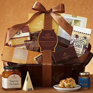 Godiva Chocolate Tea Party Basket
