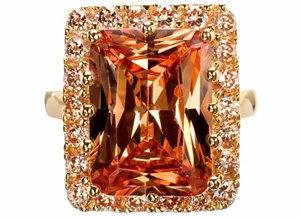 Meg's 14k Gold Cocktail Ring