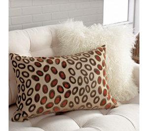 Crate & Barrel Cameroon Rectangular Pillow