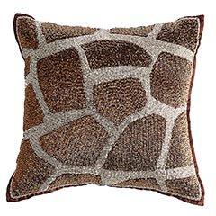 Pier 1 Beaded Giraffe Pillow