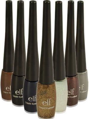 ELF Liquid Eyeliner in Silver