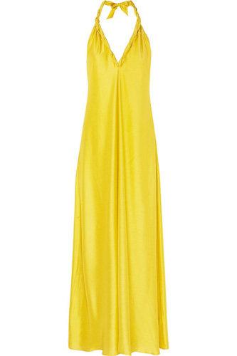 La Perla Riddhi Silk-Blend Maxi Dress