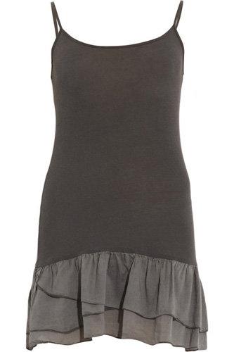 Splendid Frilled-Hem Camisole Dress