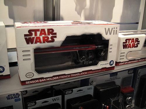 Star Wars Light Saber Game