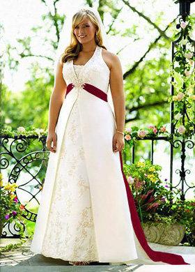 David's Bridal a-Line Halter for Women