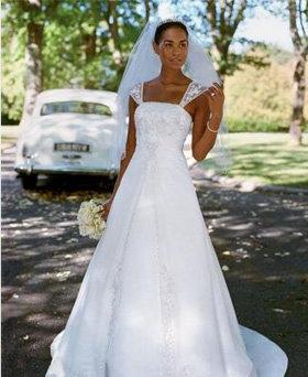 David's Bridal a-Line