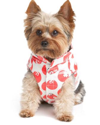 Juicy Couture Dog Charm-Dot Parka Vest