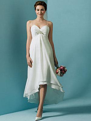 Summer White Wedding Dress