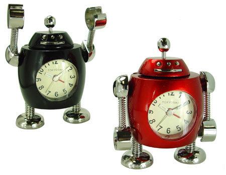 Tank Robot Clock