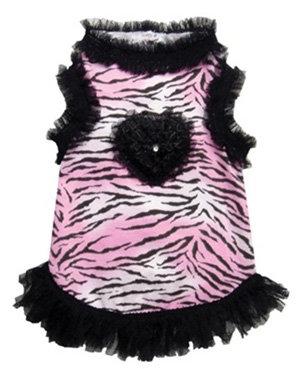 Pink Tigress Tank Dress