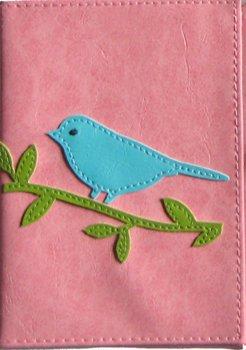 Globally Cute Bird Passport Cover