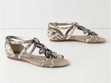 Unfurling Sandals