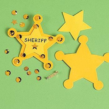 """Sheriff"" Badge Craft Kit"