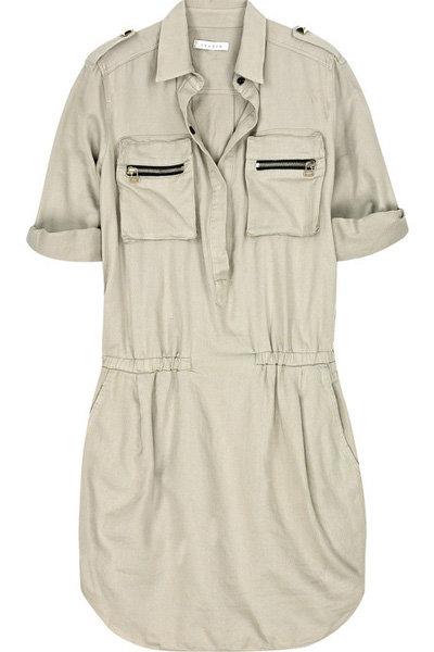 Sandro Riposte Mini Shirt Dress