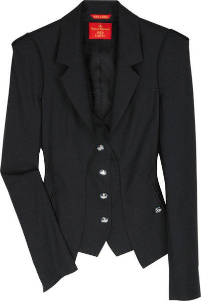 Vivienne Westwood Red Label Bold-Shouldered Wool-Blend Jacket
