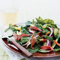 No Cook Thai Beef Salad