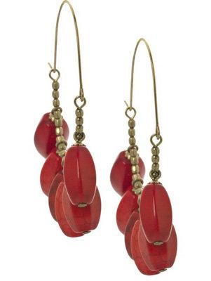 Isabel Marant Stone-Embellished Half-Hoop Earrings