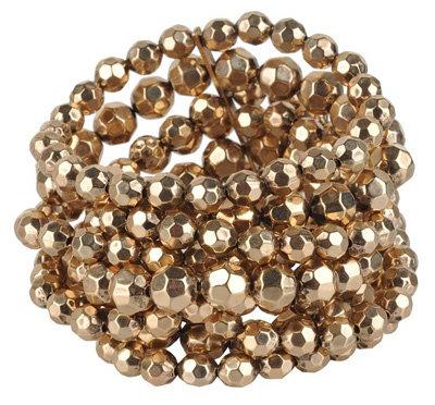 Forever 21 Elastic Beaded Bracelet
