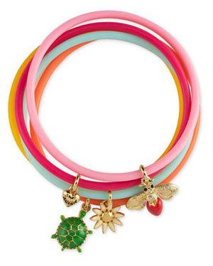 Girls' Jelly Bracelets, Set of Five