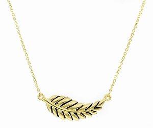 Emitations Zenas Wish Necklace Leaf