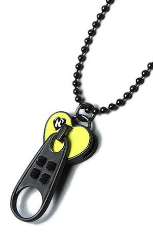The Long Chain Zipper Pendant Necklace