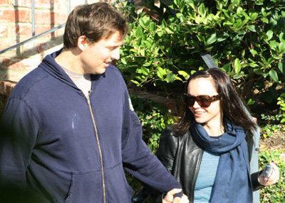 Christina Ricci and Owen Benjamin