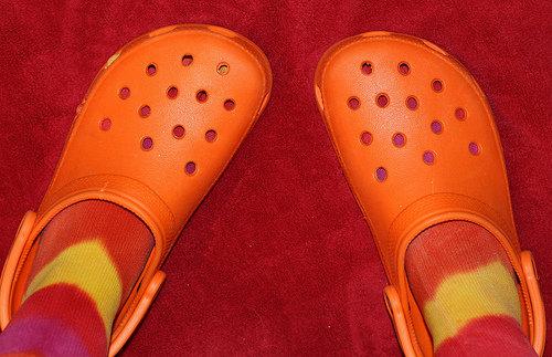 One Word: Crocs