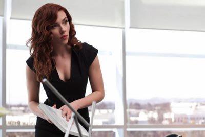 "Natasha Romanoff in ""Iron Man 2"""