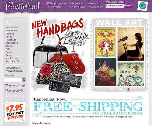 PlasticLand at Shopplasticland.com
