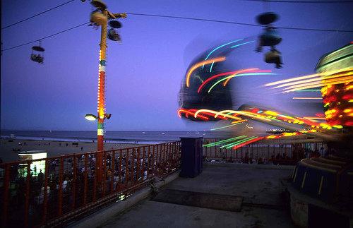 Go to an Amusement Park!