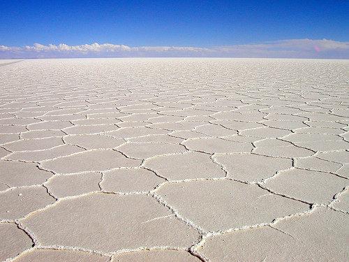 Salt is Abrasive and Makes an Excellent Scourer