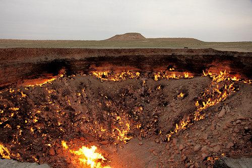 Derweze - the Door to Hell