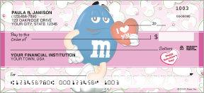 M&M's Valentines Checks